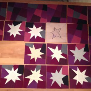 WIP Wednesday: Wonky-Starquilt