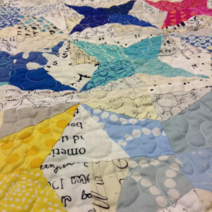 "Finja's Quilt ""Wish Upon a Star"""