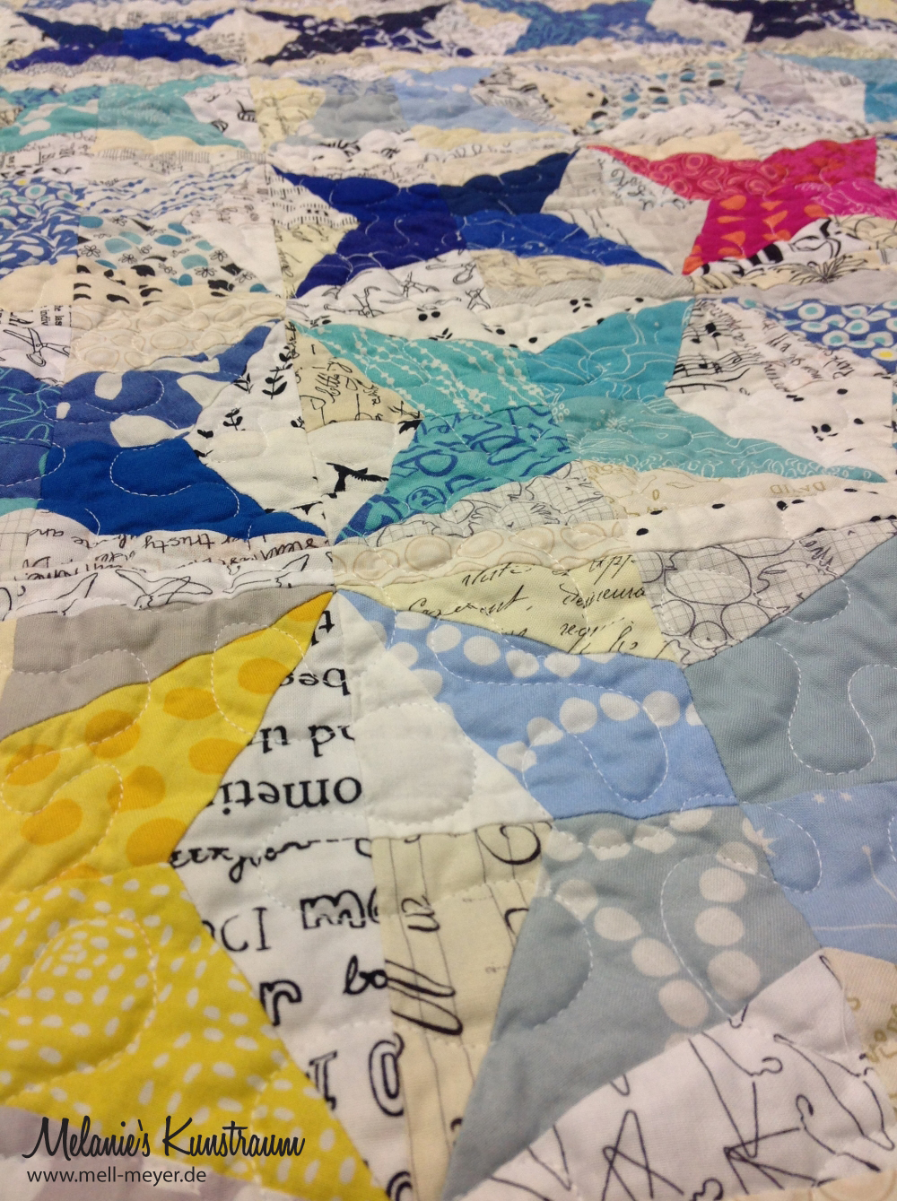 "Finja's Quilt ""Wish Upon a Star"" 