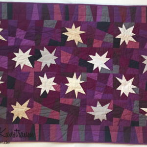 "Felia's Quilt ""Stars for a Princess"""