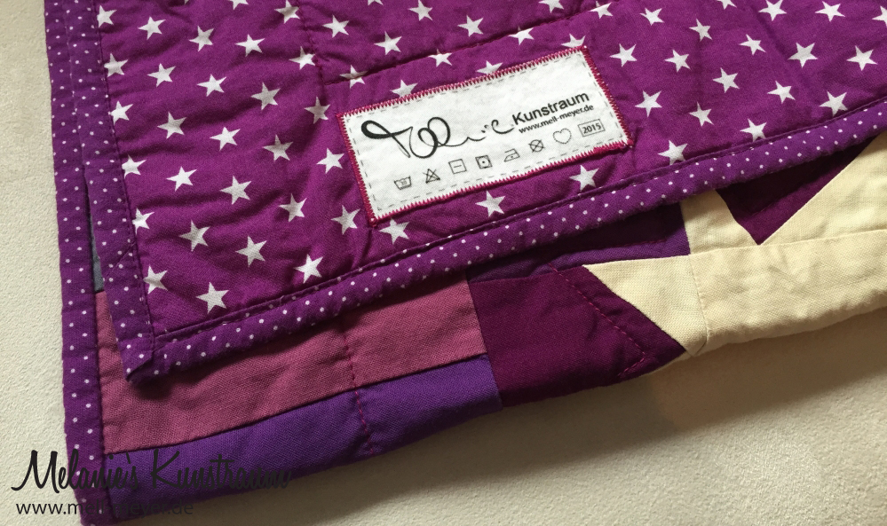 "Felia's Quilt ""Stars for a Princess"" 
