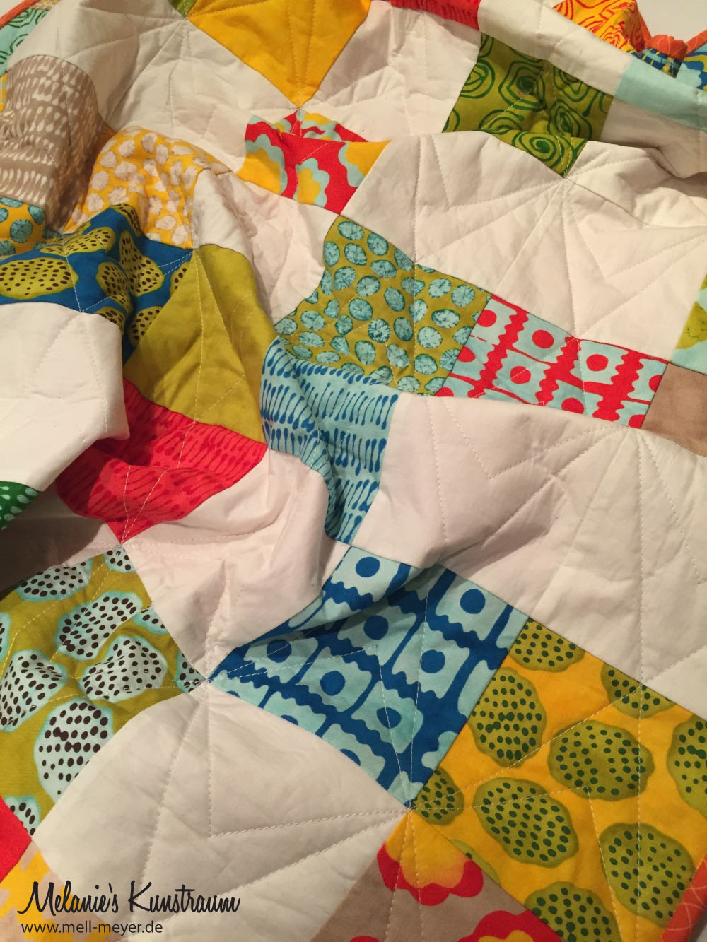 """Charity Quilt No. 3 """"From Outside In""""  mell-meyer.de"""
