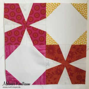 "Quilty Circle of Bees – May/June 2016 ""Wanta Fanta"""