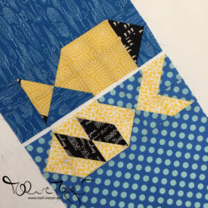 "Quilty Circle of Bees – November/ December 2016 ""Plenty of Fish"""
