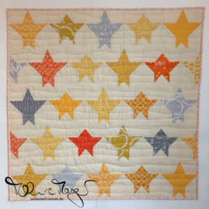 "Noah's Mini Quilt ""Starry Night"""
