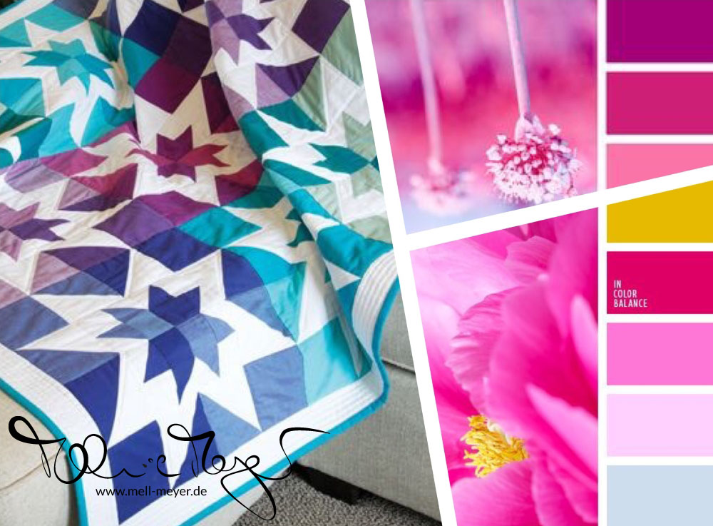 "project collage ""Pink Stars"" 