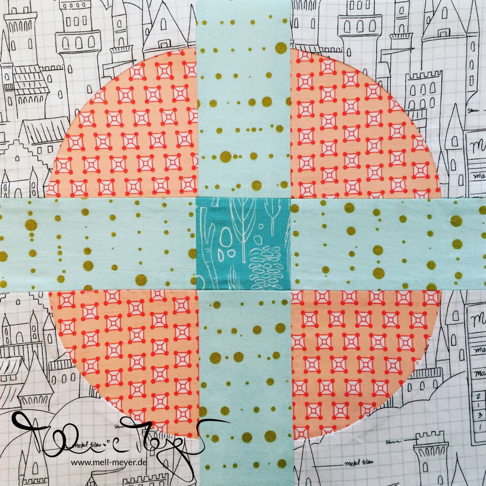 "Quilty Circle of Bee - July/August ""Summer Smoothie"" 