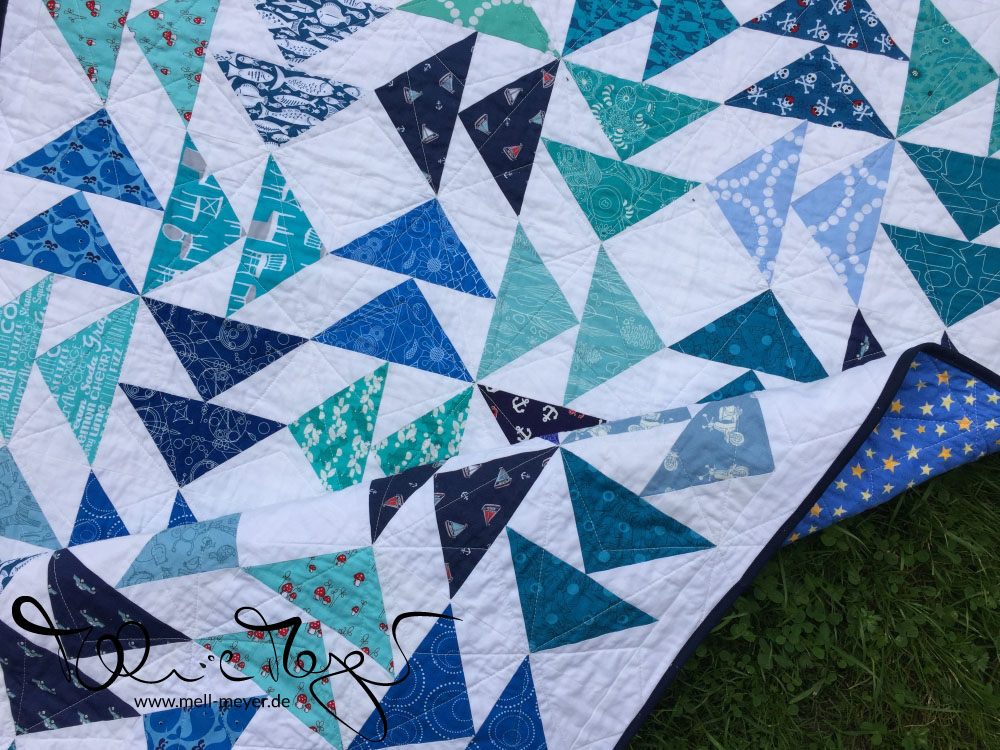 "Noah's Quilt ""Which Way to the Stars"" 