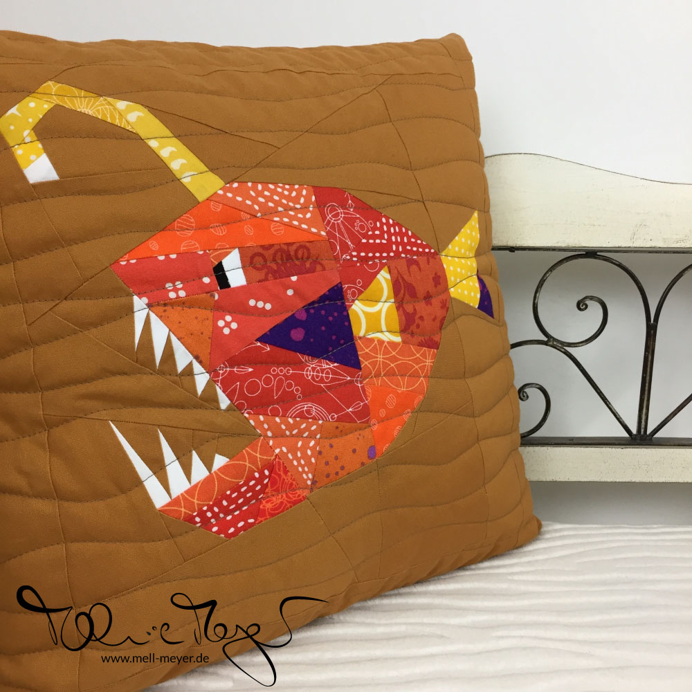 """Folksy Fish"" Pillows 