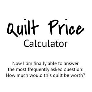 Quilt Prices