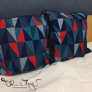 2019/01: Monthly Check-In and Finished Oakshot Pillows