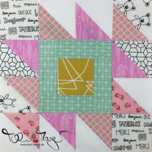 Quilty Circle of Bees - February 2018 | mell-meyer.de