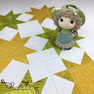 "Quilty Circle of Bees – June/July 2018 ""Stars"""