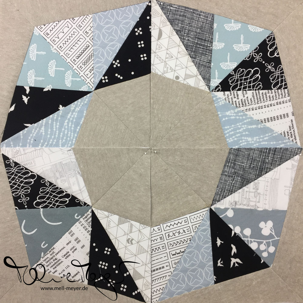 Quilty Circle of Bees - August/September 2018 | mell-meyer.de