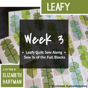 Leafy Quilt Sew Along — Week 3 — Second Set of Full Blocks