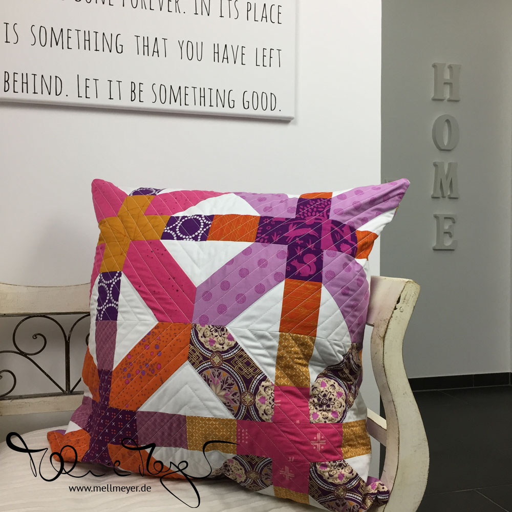 Quilted Pillow for Saadia | mellmeyer.de
