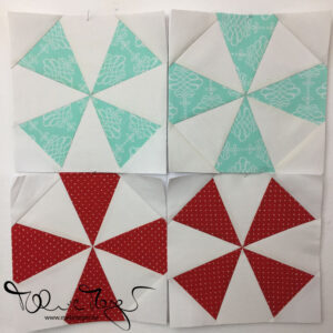 """Quilty Circle of Bees – January/February 2020 """"Kaleidoscope"""""""