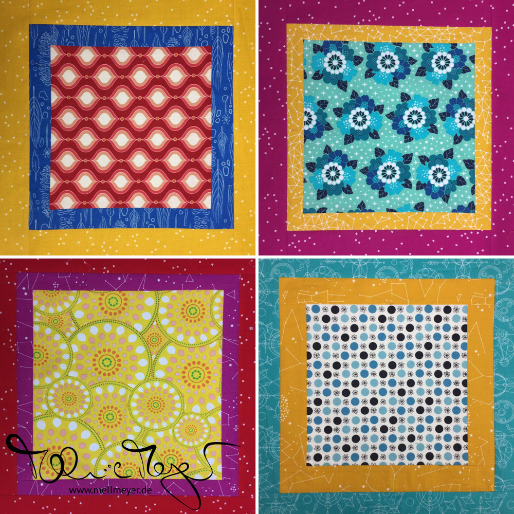 Quilty Circle of Bees - March/April 2020 | mell-meyer.de