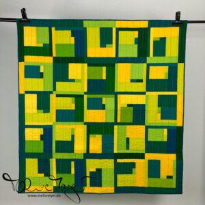 "Quilt Buzz Bingo ""Green"""