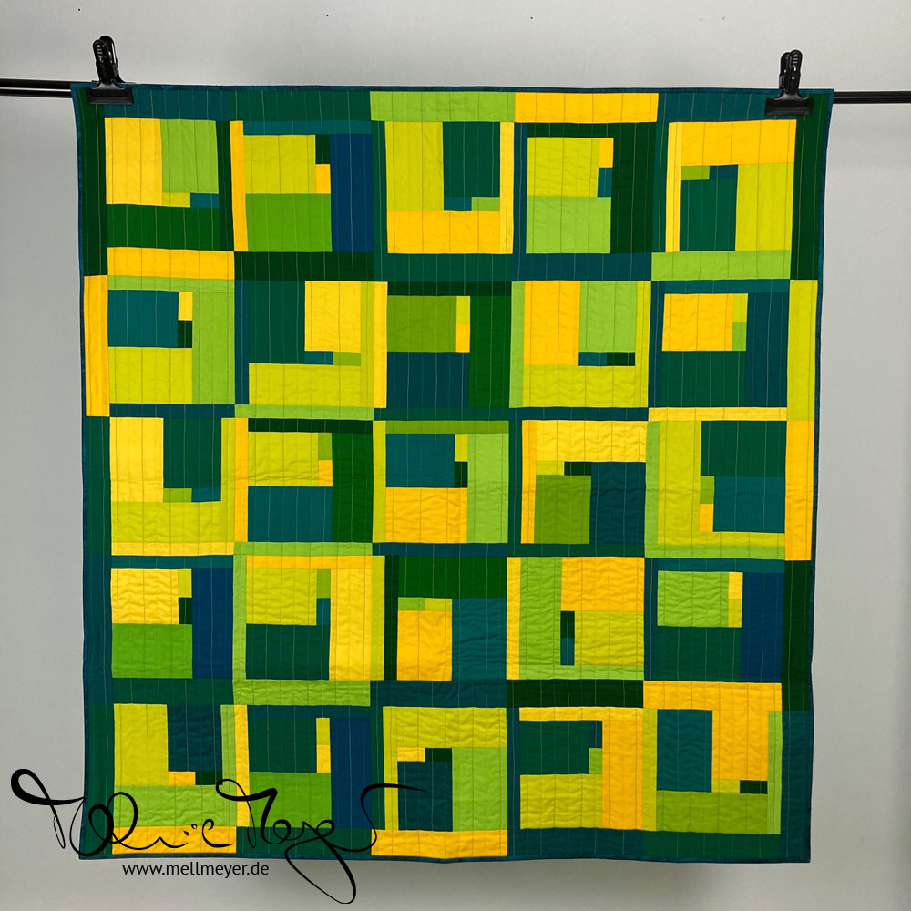 "Quilt Buzz Bingo ""Green"" 