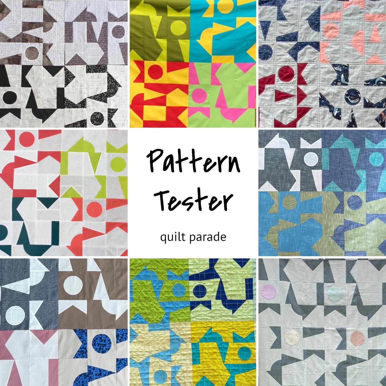 Mosaic - Pattern Tester Quilt Parade