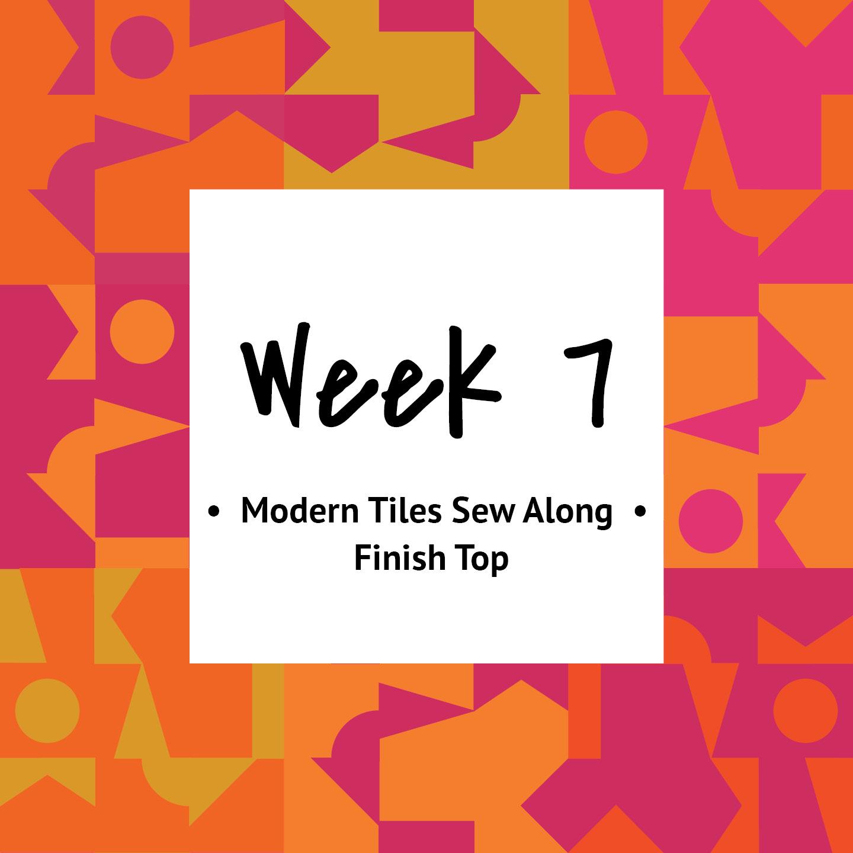 Modern Tiles Sew Along | mellmeyer.de