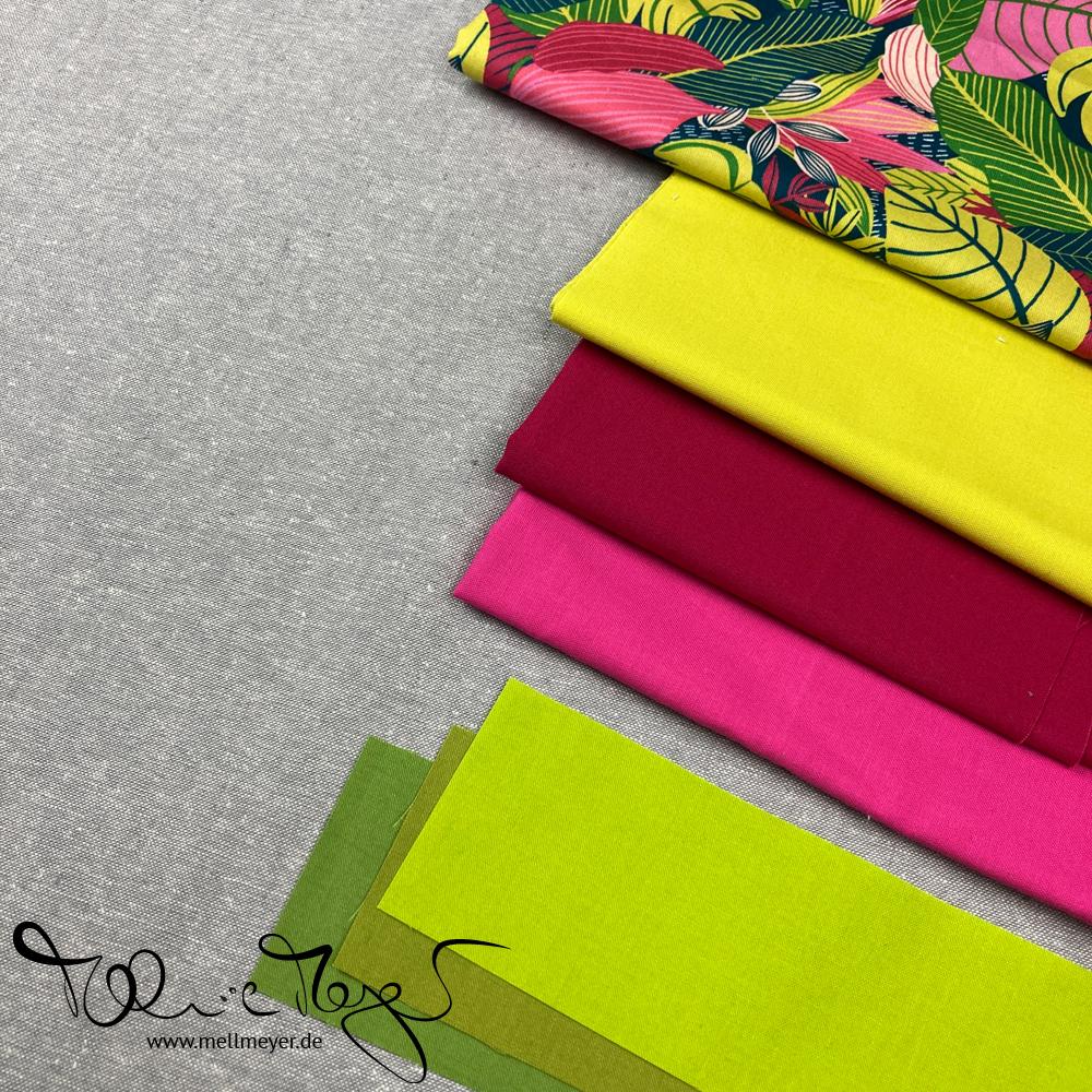 Fabric Pull for the Modern Tiles Sew Along   mellmeyer.de