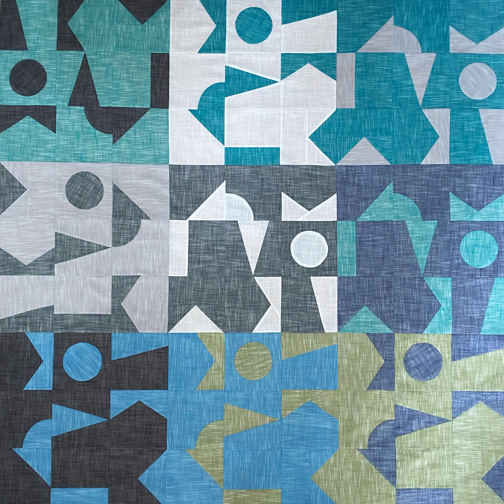 Pattern Tester Quilt by Christine @lopolokko