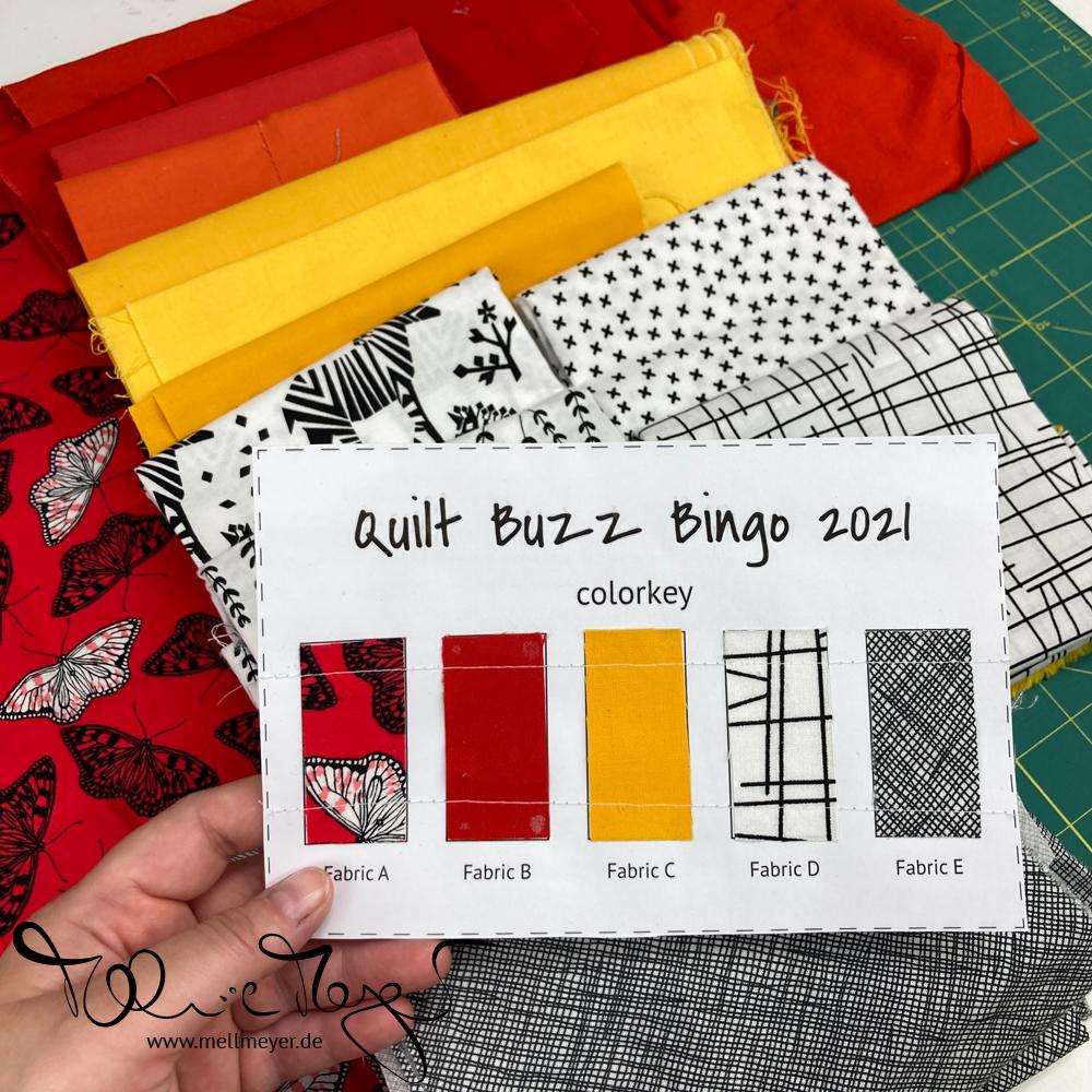 Quilt Buzz Bingo 2021 | mellmeyer.de